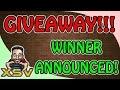 Giveaway Winner Announced! PSN Voucher Xbox Live Credits Steam Voucher