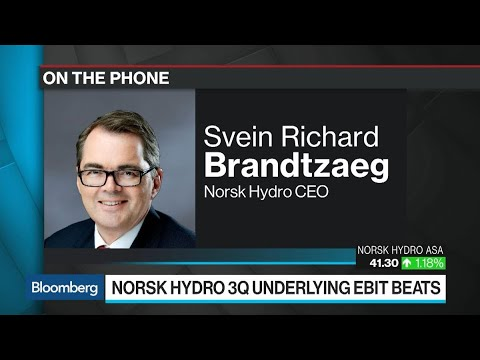 Norsk Hydro CEO on Aluminium Pricing, Tariffs, China