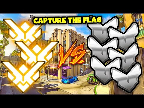 3 Grandmasters VS 6 Silvers in Capture The Flag! - Who Wins? - Overwatch thumbnail