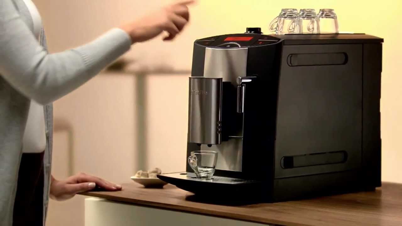 miele cm5200 barista espresso machine youtube. Black Bedroom Furniture Sets. Home Design Ideas