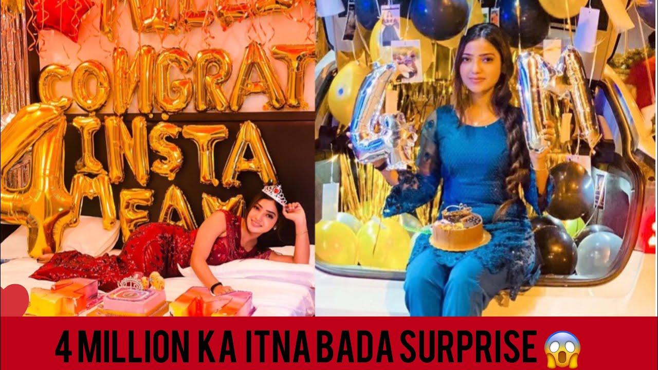 4 Million pe 4 surprise 🎁😍muje to rona aagaya🥺 | MUSKAN SHARMA | vlog