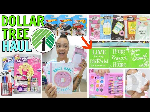 DOLLAR TREE HAUL! NEW PLANNER FINDS NEW CRAFTS ITEMS AND MUCH MORE!