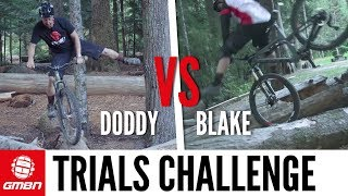 Whistler Trials Riding Challenge | Doddy Vs Blake