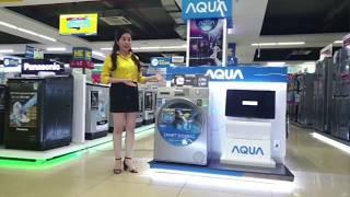 Review Máy giặt lồng ngang Aqua AQD-DD950