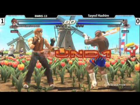 Tekken Tag 2 Grand Finals at K.O fighting festival in Kuwait - S.Hashim VS BMNS-13