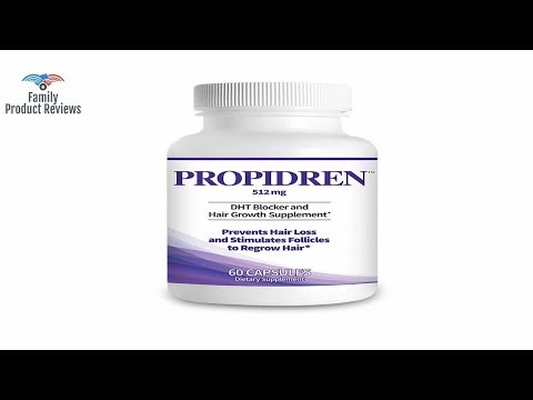 propidren-by-hairgenics---dht-blocker-&-hair-growth-supplement-with-saw-palmetto-&-biotin-to-preven