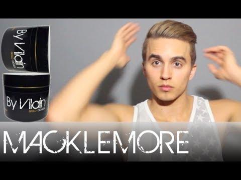Macklemore Hair Tutorial By Dre Drexler By Vilain Gold