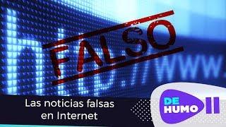 Las noticias falsas en Internet