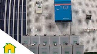 Kit Solar Fotovoltaico 5000W 24V 12400Wh dia