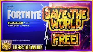 *NEW UPDATED* 😍How to Get SAVE THE WORLD For FREE! *100% Working* (Fortnite FREE Glitch April 2018)