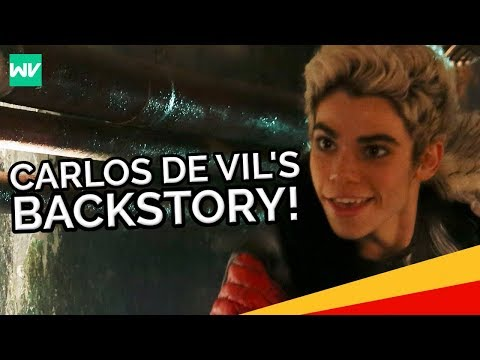 Carlos De Vil Backstory! - Why He Is Scared Of Dogs: Discovering Descendants