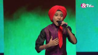 Vishwaprasad Ganagi - Rang De Basanti - Liveshows - Episode 27 - The Voice India Kids