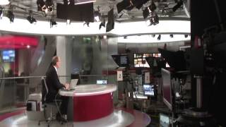 Alastair Yates with a behind the scenes look at BBC TV Centre