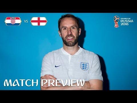 Gareth SOUTHGATE - Croatia v England Preview - 2018 FIFA World Cup™