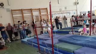 Брусья. Спортивная гимнастика. Мими. #sport # gym # superme 1юношеский разряд. Харьков. Область