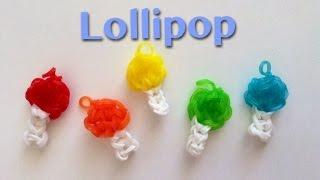 EASY Rainbow Loom Lollipop Charms