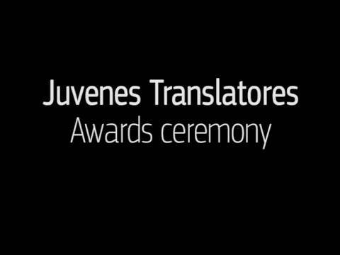 Juvenes Translatores - Awards ceremony