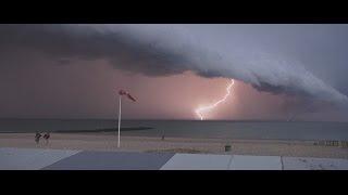 """Orage/storm """"arcus"""" Belgium, Belgique  Knokke"""