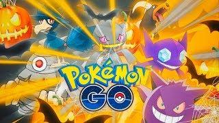 ¡¡¡IMPRESIONANTE el TEAM HALLOWEEN vs GIMNASIOS en Pokémon GO!!! [Keibron]