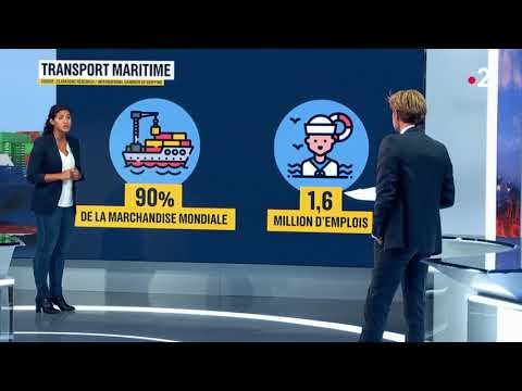 Transport maritime : une marché mondial colossal - 07 09 2018