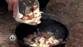 The Cast Iron Ranger Makes Oryx Green Chile Stew In A Dutch Oven