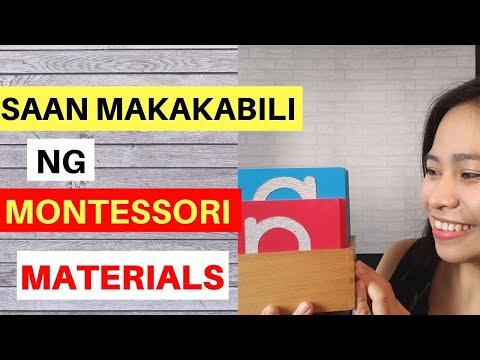 Where To Buy Montessori Materials