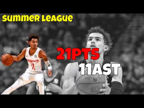 Trae Young hooping Full Game Highlights Hawks vs Knicks NBA Summer league Game Reaction