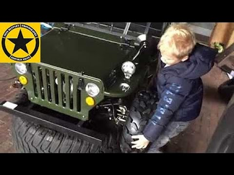 Children JEEP gasoline powered Motor Car: Jack's 2nd JEEP Project