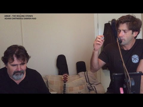 Angie The Rolling Stones Acoustic Cover Adam Cartmer & Damien Rad