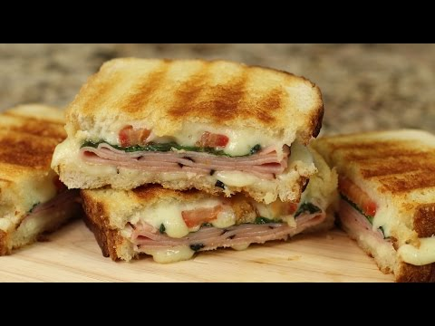 Grilled Ham and Cheese On Sourdough Bread by Rockin Robin