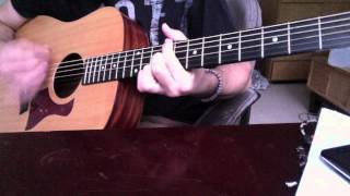 Dave Matthews - You And Me Guitar Cover