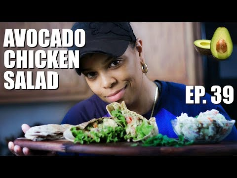 Healthy Avocado Chicken Salad   Meal Prep For The Week
