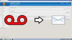 Fritzbox Anrufbeantworter Nachrichten per E-Mail zuschicken lassen