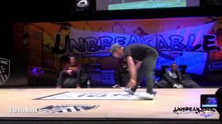Kid David Vs Lil G - Unbreakable 2013 - Quarter Final