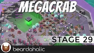 Boom Beach Mega Crab 3.0 Stage 29 Fully Boosted Gameplay
