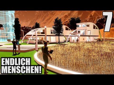 Surviving Mars Deutsch #7 Endlich Menschen auf dem Mars! | Let's Play Surviving Mars Gameplay German