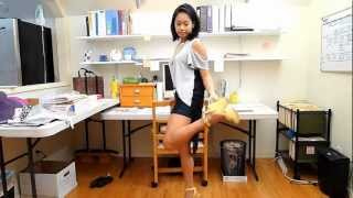 """OOTD: Outfit of the Day """"OutVID: Shoulder Cut Outs"""" 10-18-2012"""