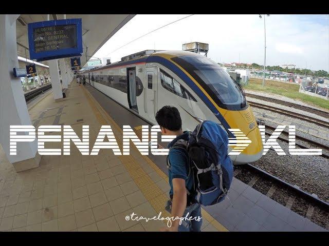 Penang Butterworth Ke Kuala Lumpur Naik Kereta Cepat Ets Platinum Ada Musholanya Malaysia 1 Youtube
