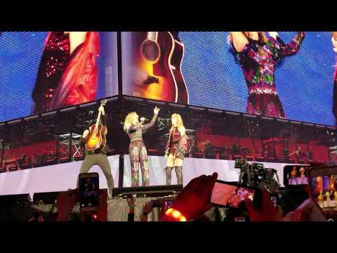 Sugarland & Taylor Swift - Babe - first time live AT&T Stadium Reputation Tour