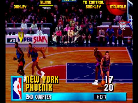 Arcade NBA JAM: Knicks Vs Suns