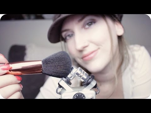 ASMR Mic Brushing, Scratching, Squishing & Fluffy Windshield w/ Breathy Whispers 1 hr Relaxation