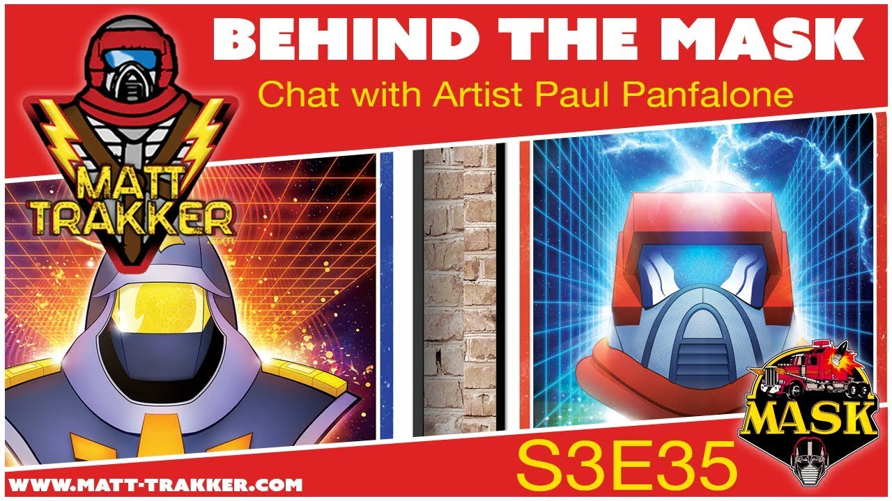 Chat with Paul Panfalone, MASK Fan Artist