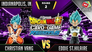 Dragon Ball Super Card Game Gameplay [DBS TCG] Indianapolis Regional Round 2