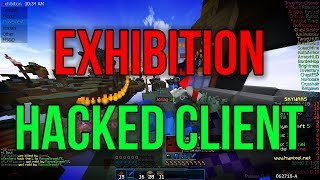Exhibition - Hacking on Hypixel Skywars #1 - [PRIVATE HACKED CLIENT]