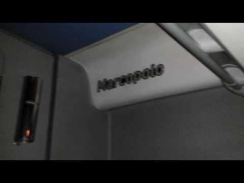 interior do onibus leito daREUNIDAS 27223