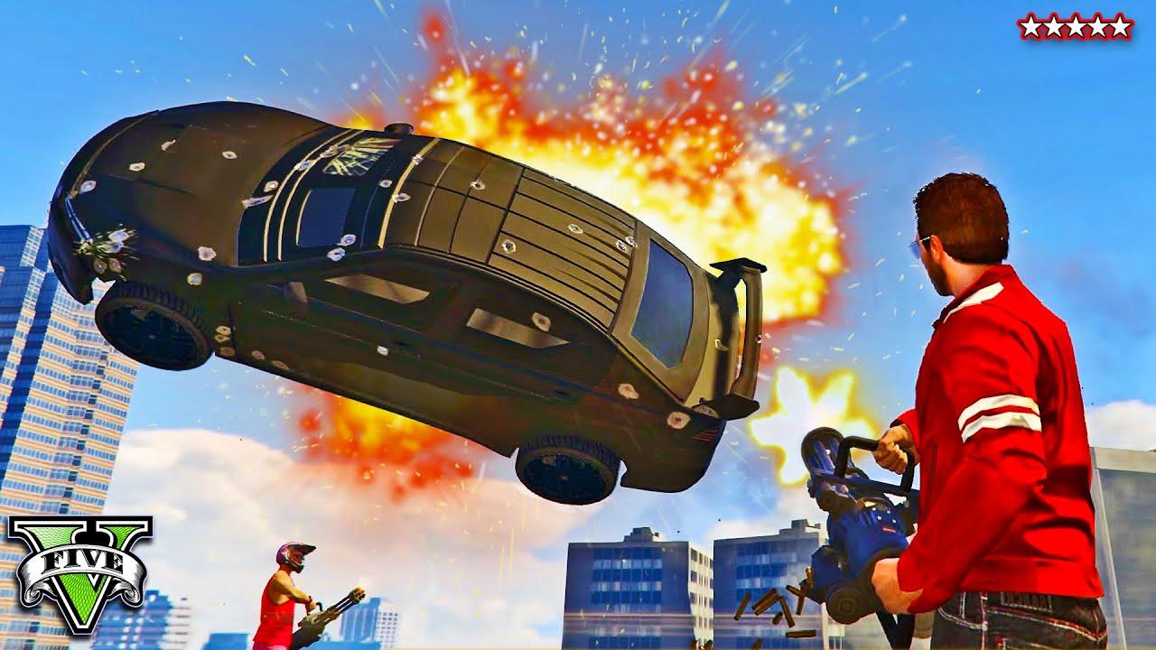 Car Stunt Wallpaper Gta 5 Kuruma Killers Miniguns Vs Kurumas Last Team