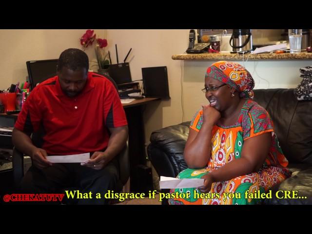 Kenyan Parents: Report Card Season