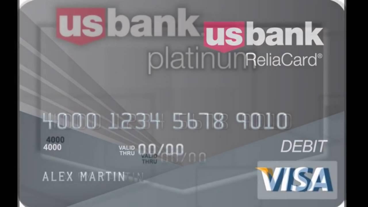 us bank credit card information