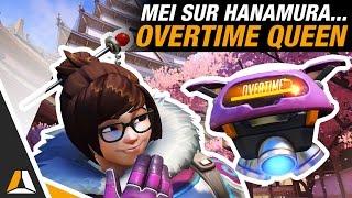 MEI + HANAMURA = REINE DE L'OVERTIME ► COMMENTARY - OVERWATCH FR