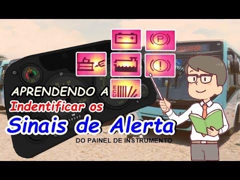 Identificando sinais de alerta ( ônibus - Caminhão ) Lâmpadas Indicadoras